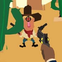 Cao bồi Texas bắn súng