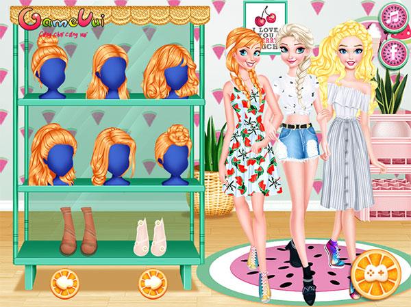 Hình ảnh trong game Thời trang trái cây 2