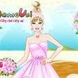 Thời trang cô dâu Barbie