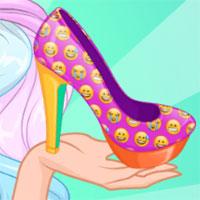 Công chúa Barbie thiết kế giày
