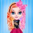 Làm tóc cô bé Elsa