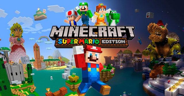 Minecraft Super Mario