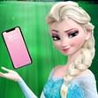Elsa trang trí điện thoại
