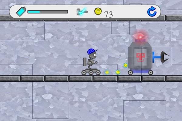Chơi game Robot tìm đường tại GameVui