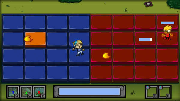 Chơi game Đại chiến quái vật lửa trên GameVui