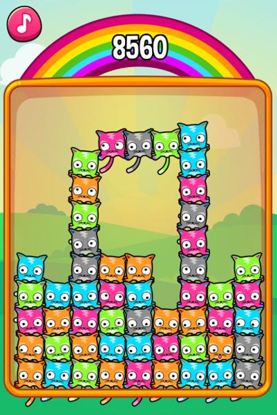 Chơi trò Xếp hình mèo con trên GameVui