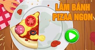 Làm bánh Pizza ngon