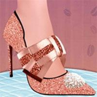 Elsa thiết kế giày cao gót