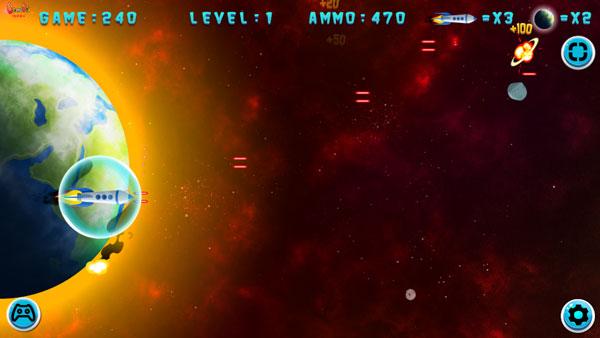 Chơi game Không gian đại chiến - GameVui