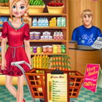 Anna đi siêu thị