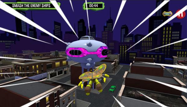Chơi game Ninja rùa 3D trên GameVui