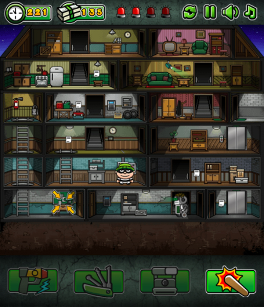 Chơi game Tên trộm thông minh trên GameVui