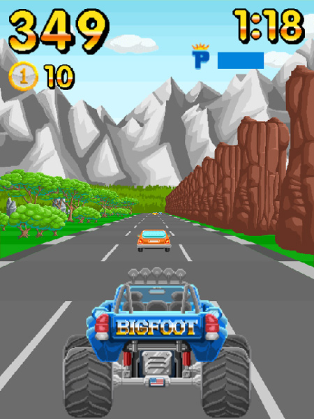 Chơi game Đua xe ô tô biến hình trên GameVui