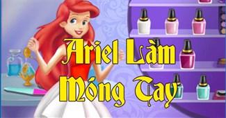 Ariel làm móng tay