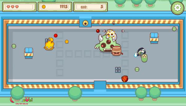 Chơi game Thợ săn Slime trên GameVui