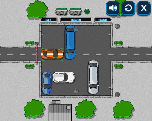 Chơi game Thoát khỏi bãi đỗ xe trên GameVui