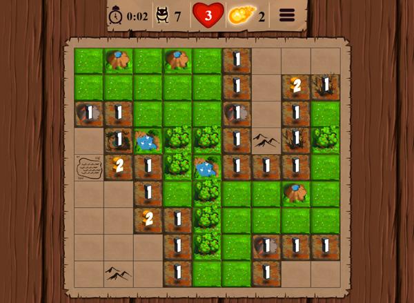 Chơi game Dò tìm yêu tinh trên GameVui