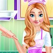 Anna trang trí bánh