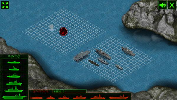 Chơi game Trận chiến trên biển