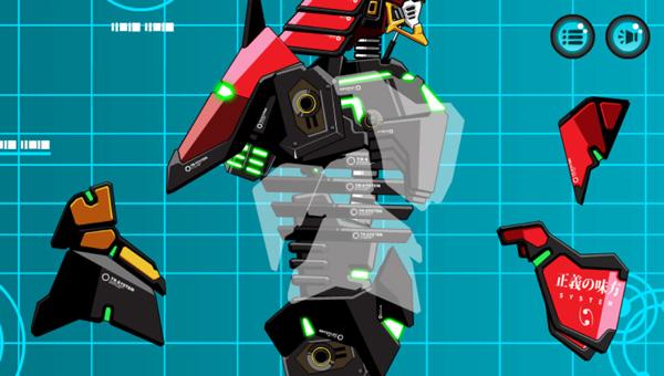 Lắp ráp robot Samurai khổng lồ