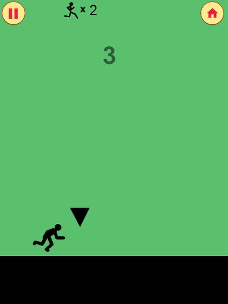 Chơi game Người que chạy 3 môn phối hợp trên GameVui