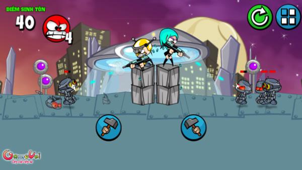 Chơi game Cuộc chiến Robot tại GameVui