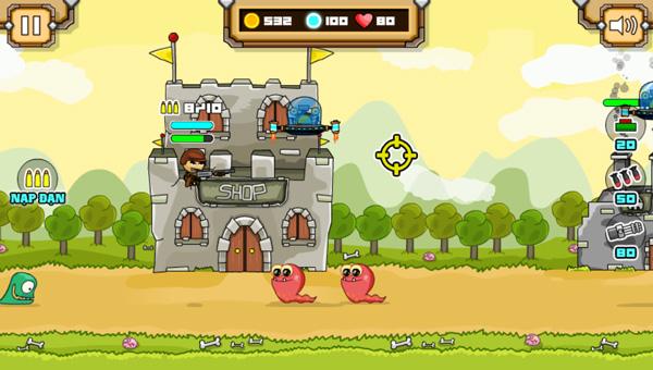 Chơi game Tay súng huyền thoại trên GameVui