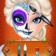 Elsa đón Halloween