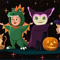 Halloween tìm điểm khác