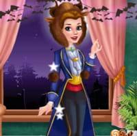 Trang trí lâu đài Halloween