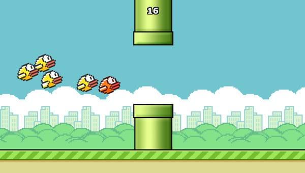 Chơi trò Đập chim Flappy tại GameVui