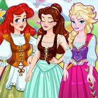 Bộ ba Công chúa xinh đẹp