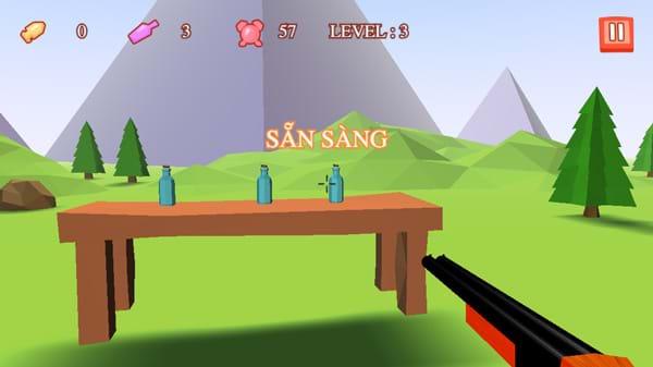 Chơi game Bắn chai 3D tại GameVui