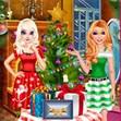 Barbie và Elsa đón giáng sinh