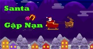 Santa gặp nạn