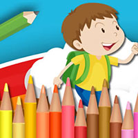 Cartoon Coloring Book Game
