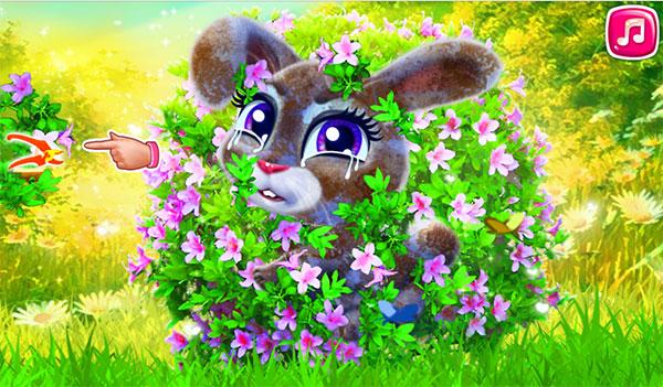 chú thỏ tinh nghịch