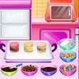 Bánh macaron kẹp kem