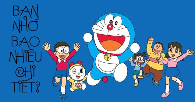 Bạn hiểu rõ truyện Doraemon đến mức nào?