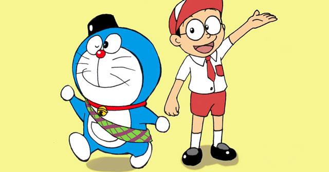 Trong lần đầu tiên xuất hiện, mèo máy Doraemon có màu gì?