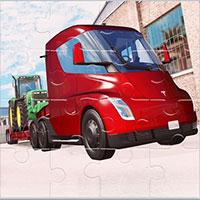 Ghép hình xe tải Tesla