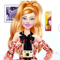 Barbie du lịch safari