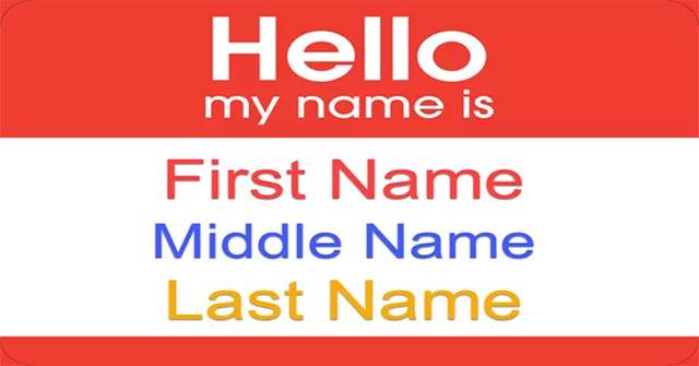 Họ tên của bạn gồm mấy từ?