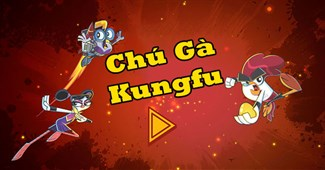 Chú gà kungfu