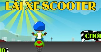 Lái xe scooter