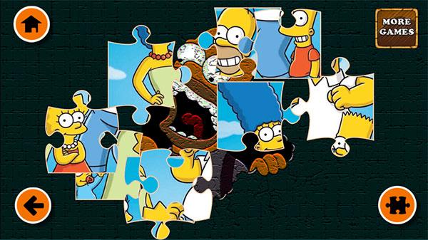 Xếp hình gia đình Simpsons