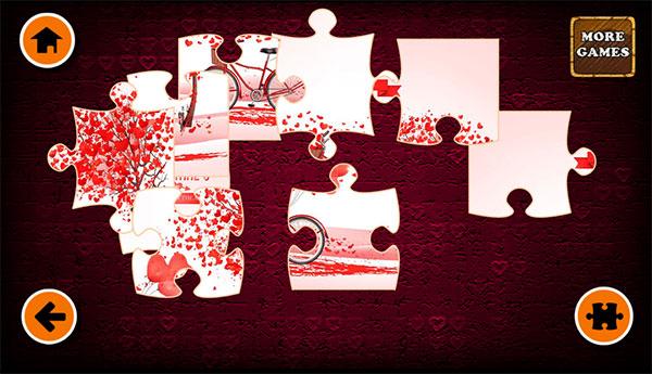 Xếp hình valentine