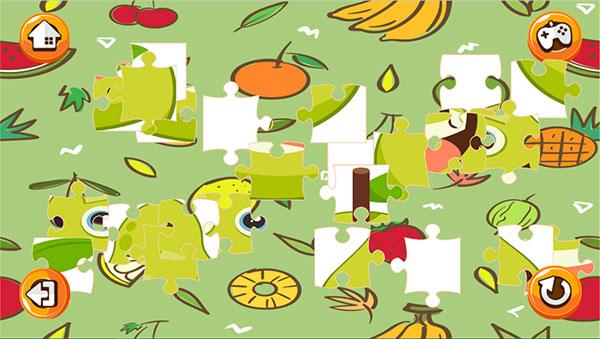 Ghép hình hoa quả