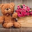 Xếp hình gấu Teddy