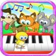 Piano tiếng động vật cho bé